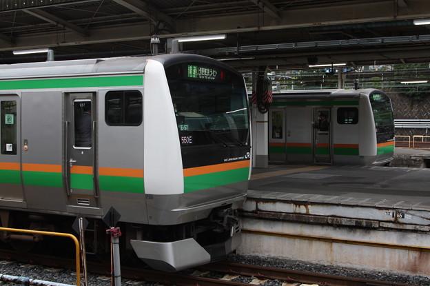 上野東京ライン E233系3000番台E-57編成・U229編成