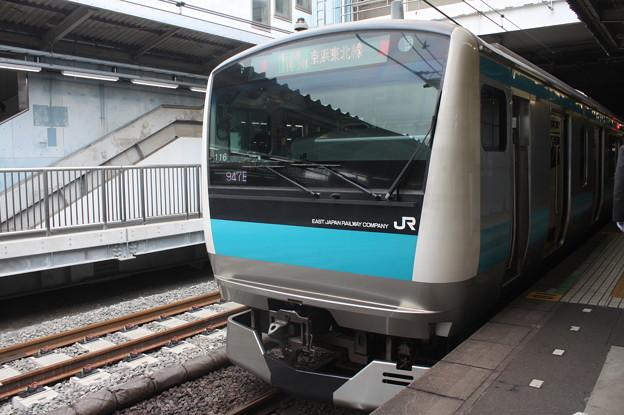 品川駅4番線に停車する京浜東北線E233系1000番台サイ116編成 蒲田 行