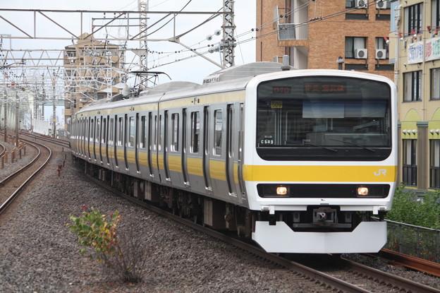 総武線 209系500番台ミツC509編成