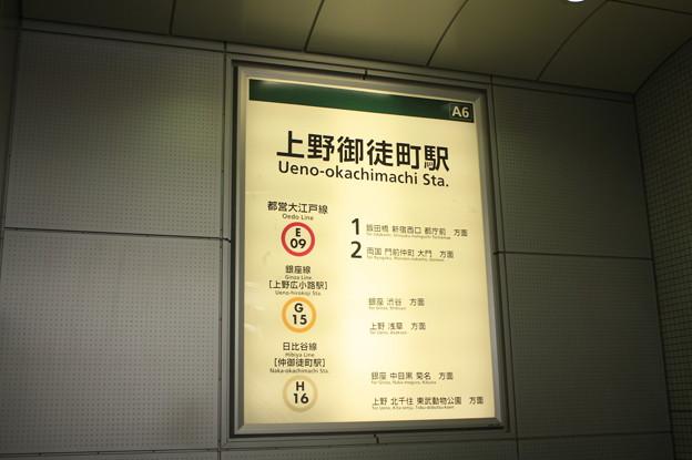上野御徒町駅 A6出口