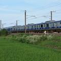 Photos: 初夏の田園風景を行くE531系 (4)