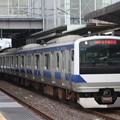 水戸線 E531系K455編成 764M 普通 小山 行