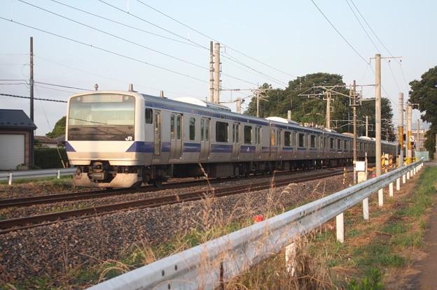 常磐線 E531系K424編成 1124M 普通 品川 行