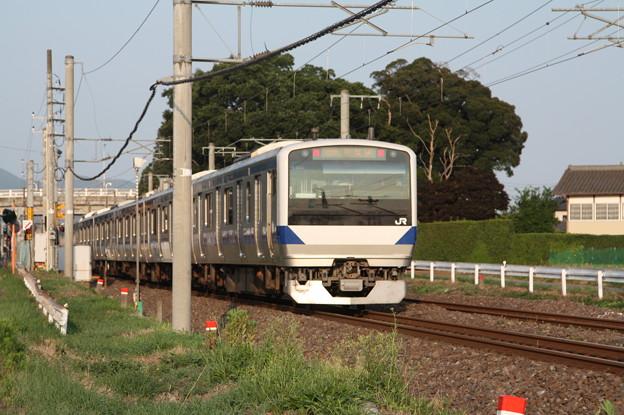 常磐線 E531系K404編成 520M 普通 土浦 行 後追い