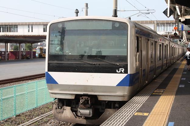 常磐線 E531系K415編成 346M 普通 上野 行 (1)