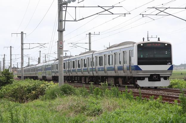 常磐線 E531系K406編成 378M 普通 上野 行