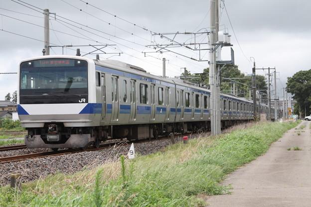 常磐線 E531系K401編成 1149M 普通 勝田 行