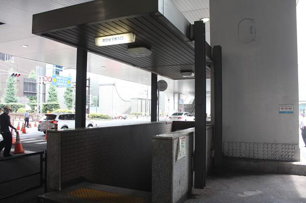 都営地下鉄浅草線新橋駅入口
