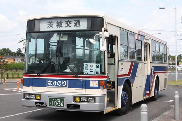 茨城交通 水戸200か1036 笠間ひまつりシャトルバス