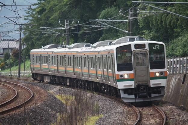 信越本線 211系3000番台A51編成 146M 普通 高崎 行 (1)