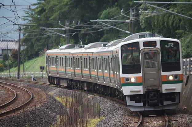 信越本線 211系3000番台A51編成 146M 普通 高崎 行 (2)