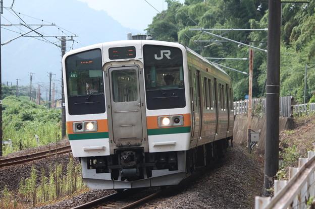 信越本線 211系3000番台A51編成 146M 普通 高崎 行 (3)