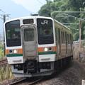 Photos: 信越本線 211系3000番台A51編成 146M 普通 高崎 行 (3)