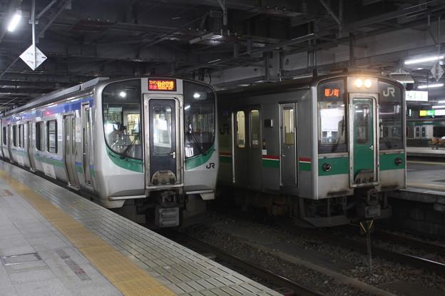 E721系500番台P501編成・701系1500番台F2-517編成 (2)