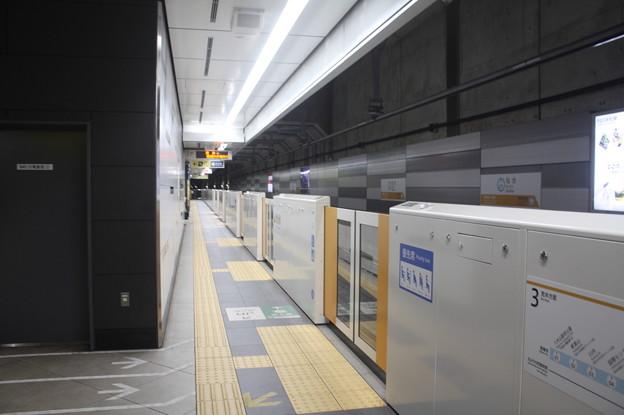 仙台市営地下鉄東西線 仙台駅3番線ホーム