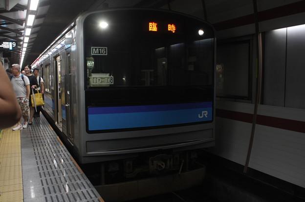 仙石線 205系3100番台M16編成 臨時快速 仙台 行 (2)