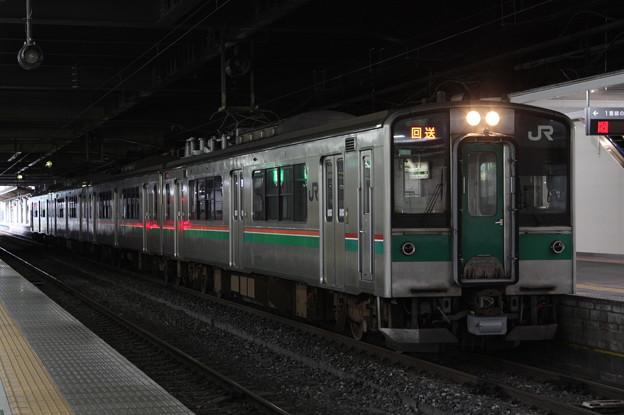 東北本線 701系1000番台F4-30編成