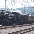 写真: 秩父鉄道 パレオエクスプレス 5001レ C58 363+12系客車4B 波久礼付近 (6)