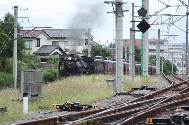 秩父鉄道 パレオエクスプレス 5001レ C58 363+12系客車4B 秩父~御花畑 (2)