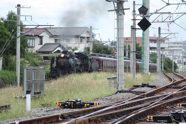秩父鉄道 パレオエクスプレス 5001レ C58 363+12系客車4B 秩父~御花畑 (3)