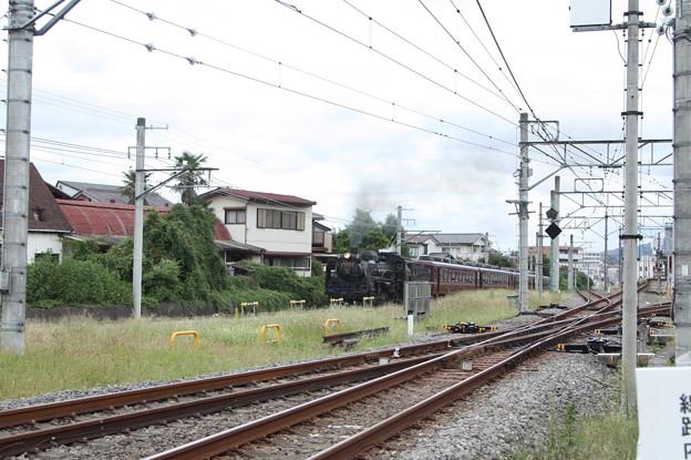 秩父鉄道 パレオエクスプレス 5001レ C58 363+12系客車4B 秩父~御花畑 (4)