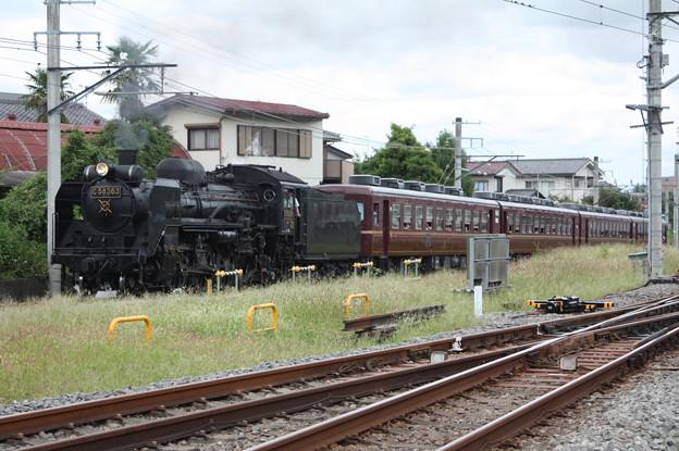 秩父鉄道 パレオエクスプレス 5001レ C58 363+12系客車4B 秩父~御花畑 (11)