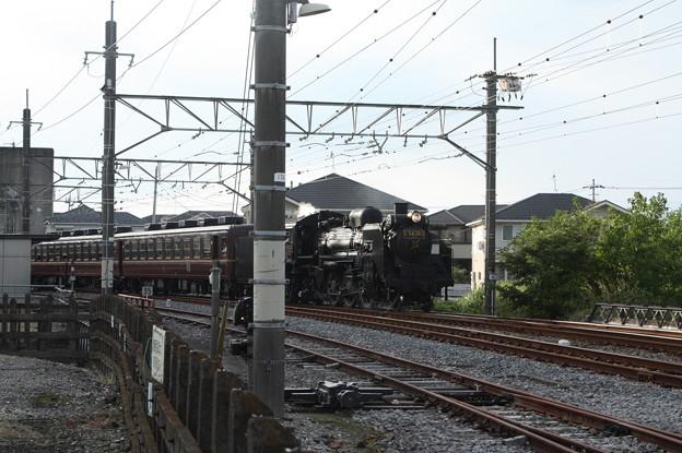 Photos: 秩父鉄道 パレオエクスプレス 5002レ C58 363+12系客車4B 石原付近 (3)