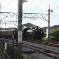 秩父鉄道 パレオエクスプレス 5002レ C58 363+12系客車4B 石原付近 (3)