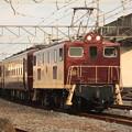 写真: 回5103レ デキ200-201+12系客車4B+C58 363 石原付近 (10)