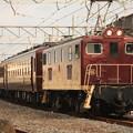 写真: 回5103レ デキ200-201+12系客車4B+C58 363 石原付近 (11)