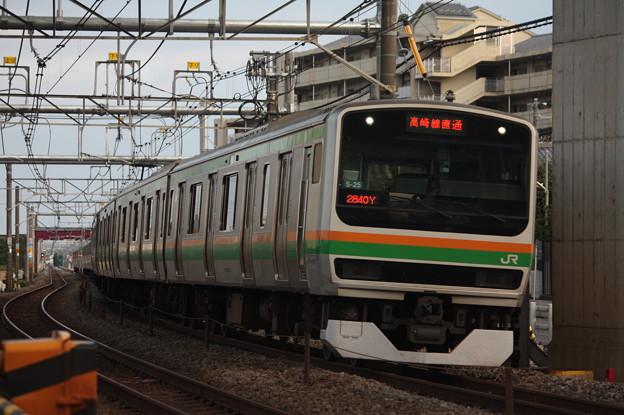 写真: 高崎線 E231系1000番台S-25編成 (1)