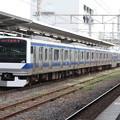 常磐線 E531系K417編成 327M 普通 勝田 行