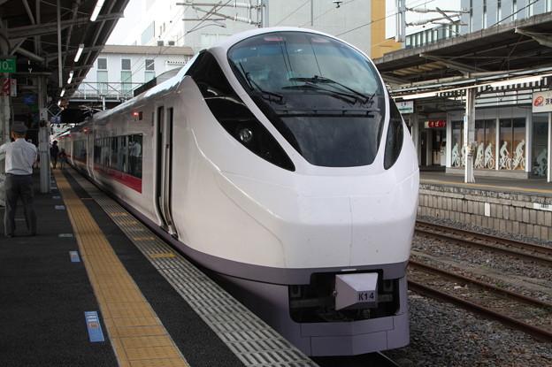 E657系K14編成 2060M 特急ときわ60号 上野 行 後追い (1)