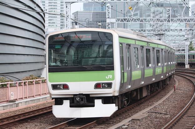 山手線 E231系500番台トウ550編成