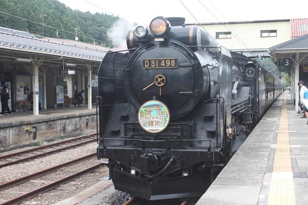 信越本線 SLレトロ碓氷 D51 498
