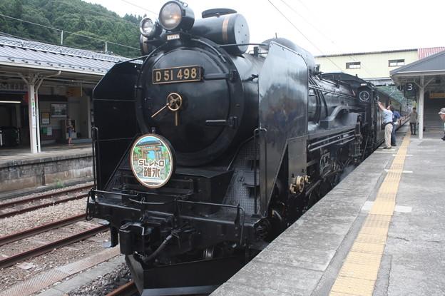 信越本線 SLレトロ碓氷 D51 498 (1)