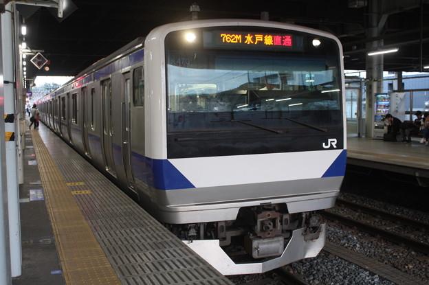 水戸線 E531系K470編成 762M 普通 小山 行