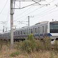常磐線 E531系K407編成 370M 普通 上野 行