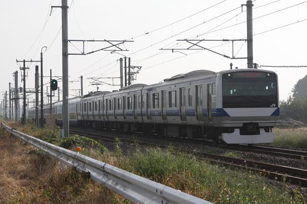 常磐線 E531系K420編成 1150M 普通 品川 行