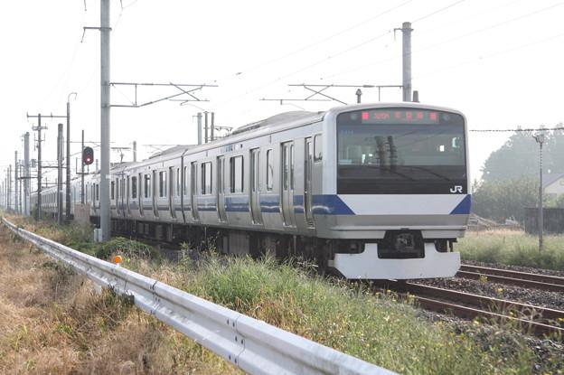 常磐線 E531系K414編成 325M 普通 水戸 行