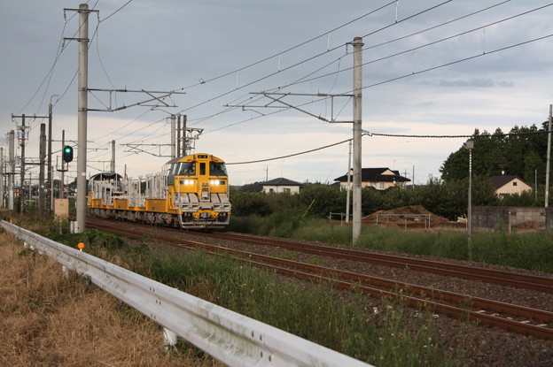 試9372D キヤE195系LT-1編成3B 常磐線試運転 (1)