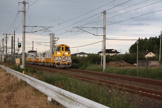 試9372D キヤE195系LT-1編成3B 常磐線試運転 (2)