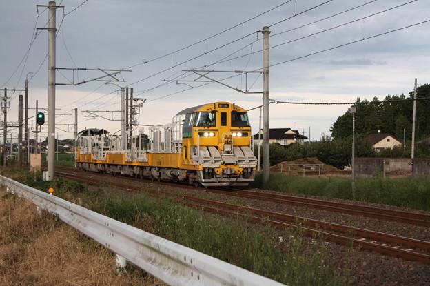 試9372D キヤE195系LT-1編成3B 常磐線試運転 (6)