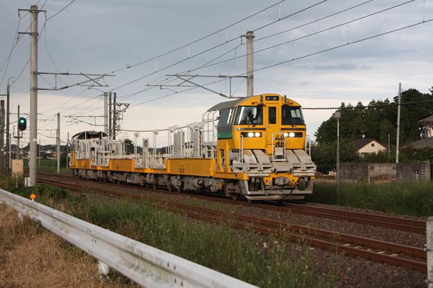 試9372D キヤE195系LT-1編成3B 常磐線試運転 (8)