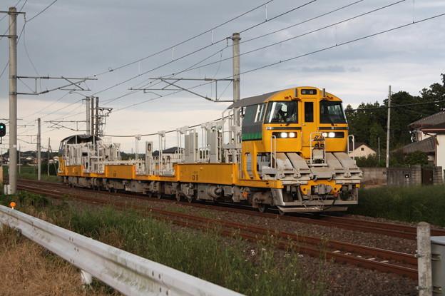 試9372D キヤE195系LT-1編成3B 常磐線試運転 (9)