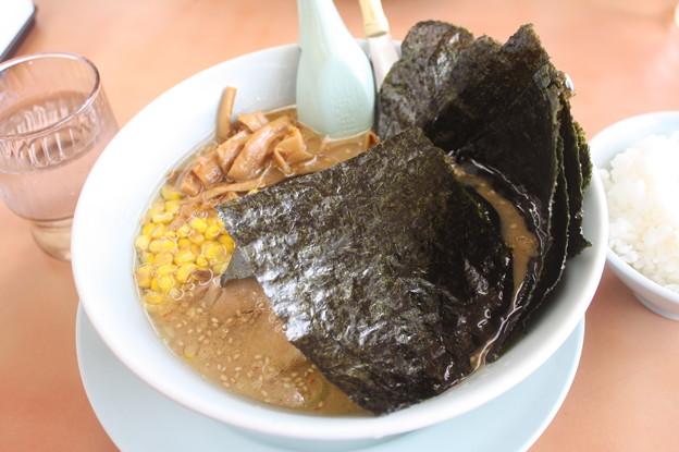 ラーメン山岡家 味噌ラーメン メンマ・コーン・海苔 トッピング (1)