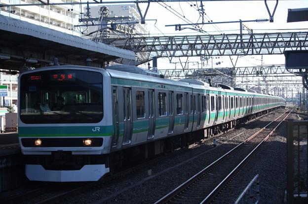 常磐快速線 E231系マト108編成 (1)