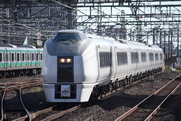 651系K103編成 9426M 臨時快速ぶらり川越号 川越 行 (4)