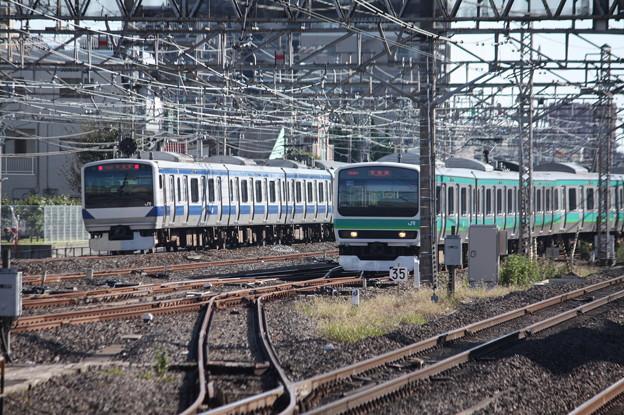 常磐快速線 E531系・E231系