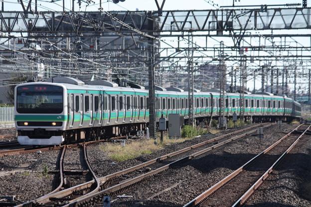 常磐快速線 E231系マト118編成
